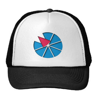 Triangles of triangles mesh hats