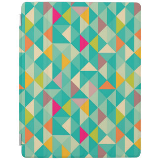 Triangles pattern iPad cover