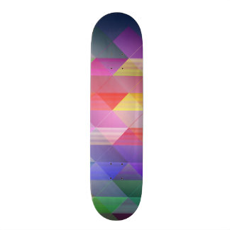Triangles structure 20.6 cm skateboard deck