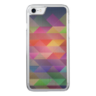 Triangles structure carved iPhone 8/7 case