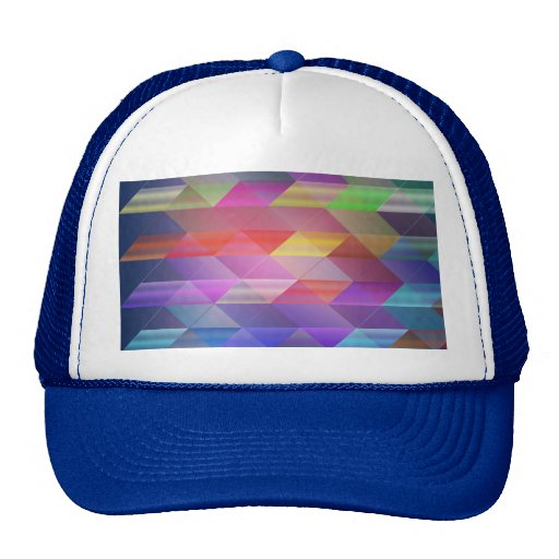 Triangles structure mesh hats