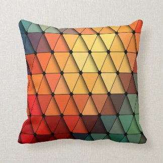 Triangular Scales Cushion