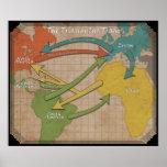 Triangular Trade Poster