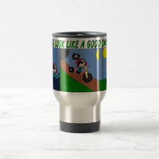 TRIATHALON girl Travel Mug