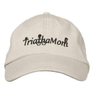 TriathaMom Embroidered Twill Hat