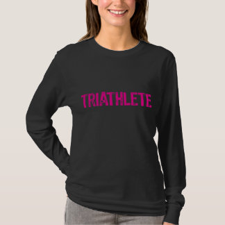 triathlete pink T-Shirt