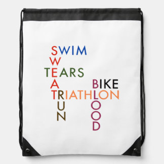 Triathlon Blood Sweat and Tears Rucksacks