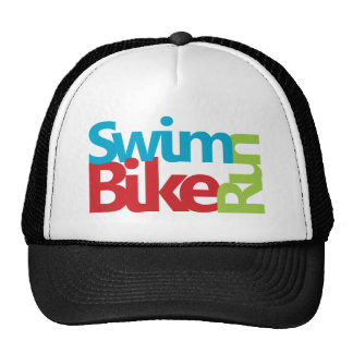 Triathlon cool and unique design trucker hats