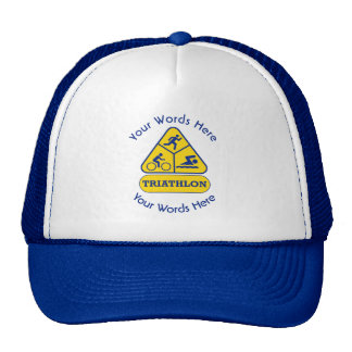 Triathlon Custom Hat