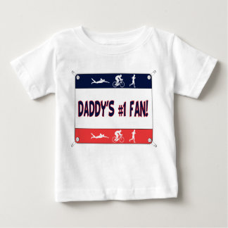 Triathlon Daddy's #1 Fan T Shirt