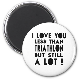 Triathlon Designs Magnet
