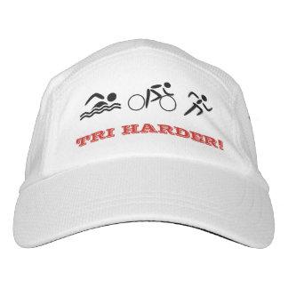 Triathlon fun quote custom text sports hat