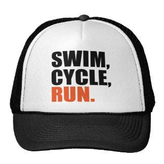 Triathlon Trucker Hats
