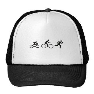 TRIATHLON LOGO TRUCKER HAT