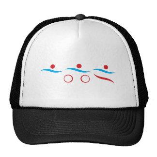 Triathlon Logo Hats