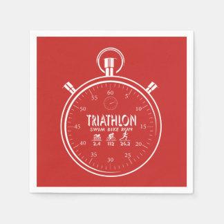 Triathlon Paper Napkin
