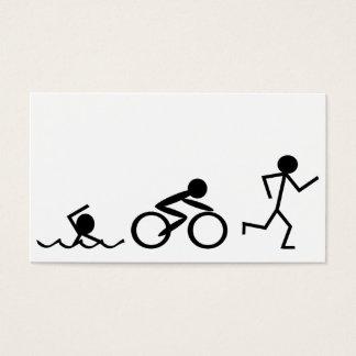 Triathlon Stick Figures