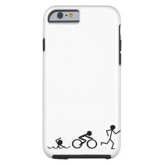 Triathlon Stick Figures iPhone 6 Case