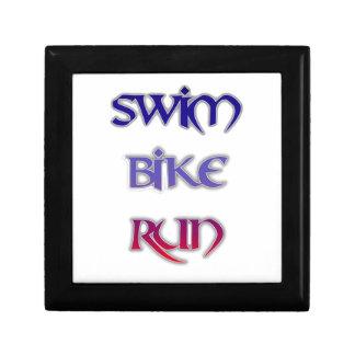 Triathlon Swim Bike Run Gift Box