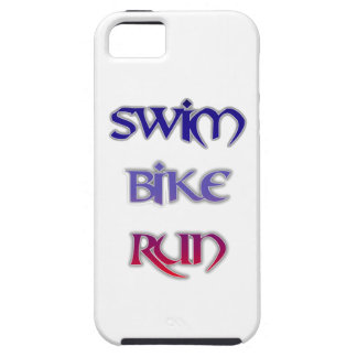Triathlon Swim Bike Run iPhone 5 Cases