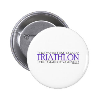 Triathlon – The Pride is Forever Pinback Button