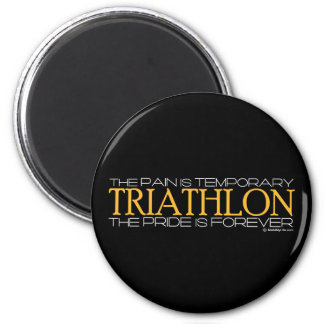 Triathlon – The Pride is Forever Magnet
