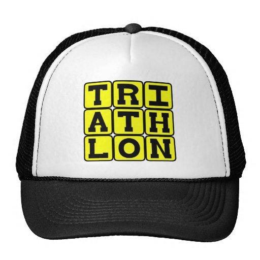 Triathlon, Track Sports Hat