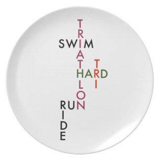 Triathlon tri hard plate