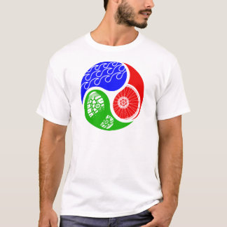 Triathlon TRI Yin Yang T-Shirt