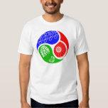 Triathlon TRI Yin Yang Tee Shirt