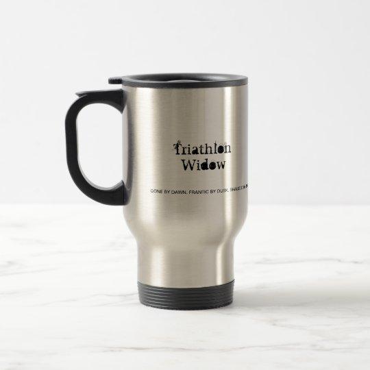 Triathlon Widow Coffee Mug - Funny Gift