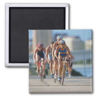 Triathloners Cycling 2 Magnet