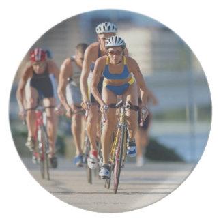 Triathloners Cycling 2 Plate