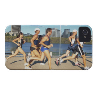 Triathloners Running 2 Case-Mate iPhone 4 Cases