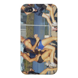 Triathloners Running 2 iPhone 4/4S Covers