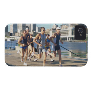 Triathloners Running 3 iPhone 4 Case-Mate Cases