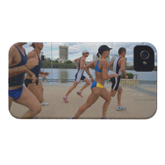Triathloners Running 4 Case-Mate iPhone 4 Case