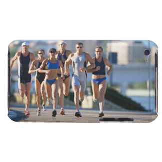 Triathloners Running 5 iPod Touch Cover