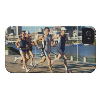 Triathloners Running Case-Mate iPhone 4 Case