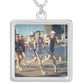 Triathloners Running Pendant