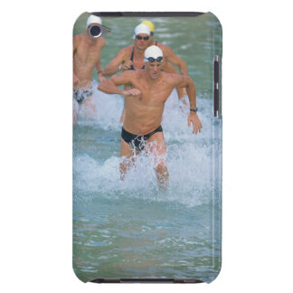 Triathloners Running out of Water 2 iPod Touch Covers