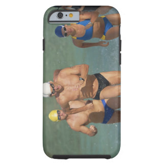 Triathloners Running out of Water 3 Tough iPhone 6 Case