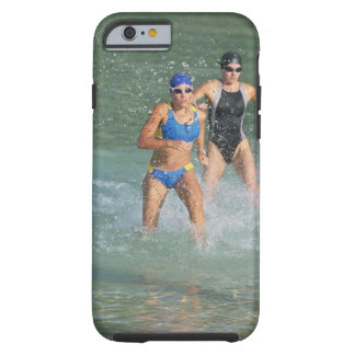 Triathloners Running out of Water Tough iPhone 6 Case