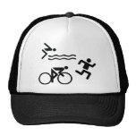 Triatholon - running swimming cycling mesh hat
