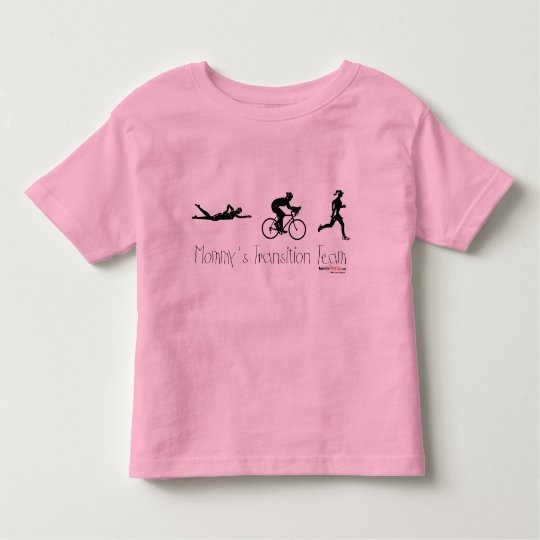 Triatlon Transition Team Toddler T-Shirt