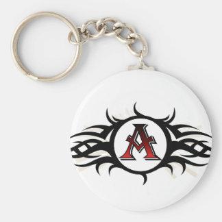 Tribal A Keychain