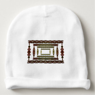 Tribal abstract. baby beanie