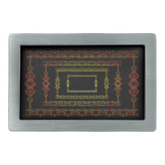 Tribal abstract. belt buckles