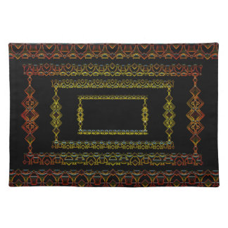 Tribal abstract. placemat