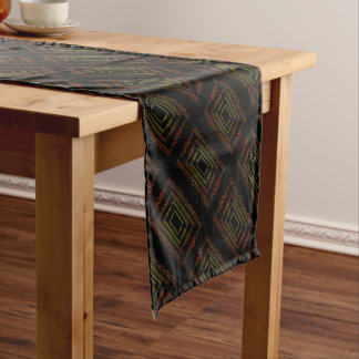 Tribal abstract. short table runner
